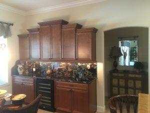 custom-wet-bar_lighting_timberwood-properties_buffet-area