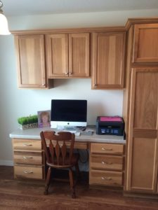 Custom Home Office Cabinetry